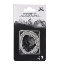 SALOMON Шнурки SHOES QUICKLACE KIT Grey