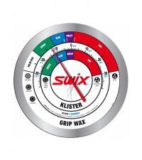 SWIX Термометр круглый настенный, беговые лыжи