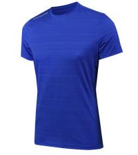 NONAME Футболка PRO RUNNING T-SHIRTS 18 UNISEX BLUE MEL, синий/темно-синий
