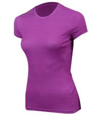 NONAME Футболка женская PRO RUNNING T-SHIRTS 18 WOS ROSE MEL, розовый/темно-розовый
