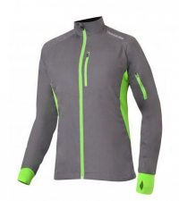 NONAME Куртка ROBIGO RUNNING 17 UNISEX Grey/Lime