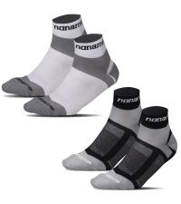 NONAME Носки TRAINING SOCKS 2 пары, белый/серый