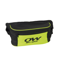 ONE WAY Сумка поясная WAIST BAG SKI WAX BLACK/YELLOW