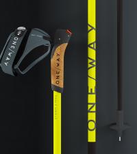 ONE WAY Лыжные палки STORM 2 MAG