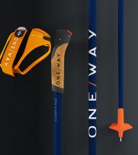 ONE WAY Лыжные палки STORM 5 MAG