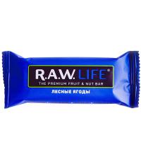 """R.A.W LIFE Батончик """"Лесные ягоды"""", 47 г"""