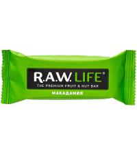 """R.A.W LIFE Батончик """"Макадамия"""", 47 г"""