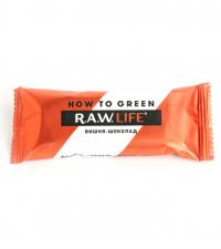 """R.A.W LIFE Батончик """"Вишня - шоколад"""", 47г"""
