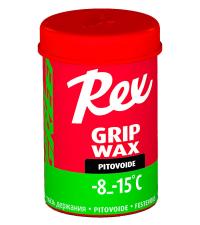REX Мазь держания 105 GRIP WAX GREEN (-8/-15), 45 г.