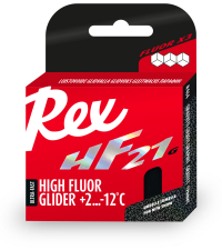 REX Высокофторовый парафин с графитом  HF21Graphite Racing Service Glider
