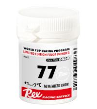 REX Фторовый порошок  Racing Service 77 для свежего/смешанного снега(+1/-7)