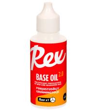 REX Низкофторовая жидкость для базовой подготовки лыж 430 Fluor Base Oil 2.0, 50 мл