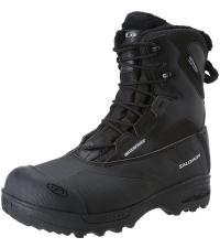 SALOMON Ботинки TOUNDRA MID WP M BLACK/BLACK/BLA