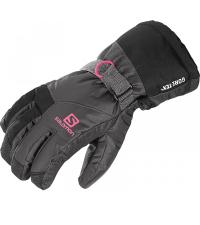 SALOMON Перчатки горнолыжные ODYSSEY GTX JR GALET