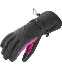 SALOMON Лыжные перчатки TACTILE CS W BLACK/MY
