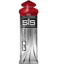 SIS Гель изотонический углеводный с кофеином 75 мг GO ENERGY + CAFFEINE GEL ягоды, 60 мл
