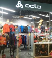 Магазин ODLO в ВГК Снежком, Красногорск
