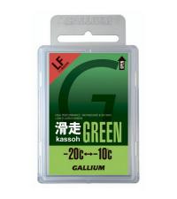 GALLIUM Низкофторовый парафин AXS, зеленый