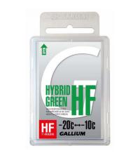 GALLIUM Высокофторовый парафин HYBRID HF GREEN