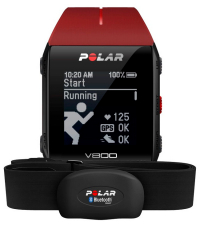 POLAR Спортивные часы V800 HR RED