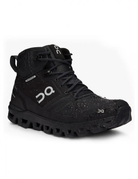 ON Кроссовки женские Cloudrock Waterproof All Black Артикул: 000023.99851