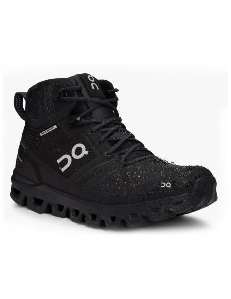 ON Кроссовки мужские Cloudrock Waterproof All Black Артикул: 000023.99854