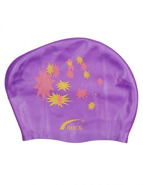 SPRINTER Шапочка для плавания силиконовая для длинных волос KW Артикул: 06321