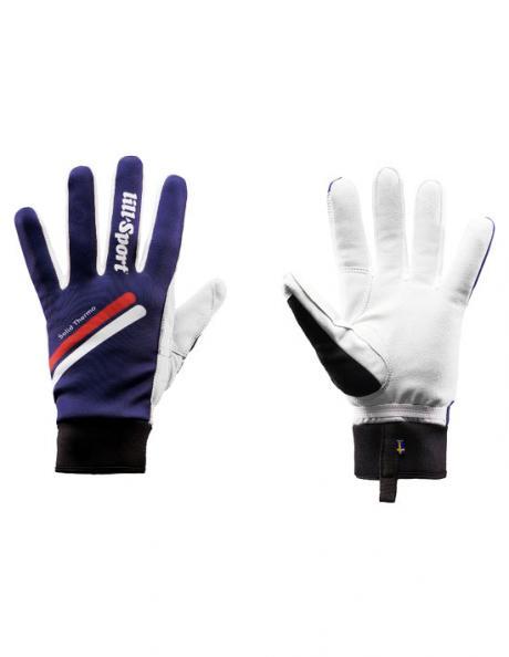 LILLSPORT Теплые гоночные перчатки SOLID THERMO Артикул: 0683