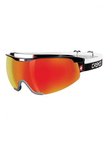 CASCO Лыжные очки SPIRIT CARBONIC BLACK-RED SWISS Edition Артикул: 07.4928