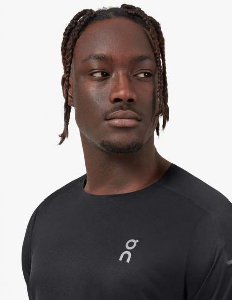ON Футболка мужская PERFORMANCE-T Black / Dark Артикул: 102.00289