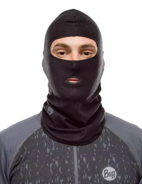 BUFF Балаклава THERMONET® Solid Black Артикул: 115248.999.10.00
