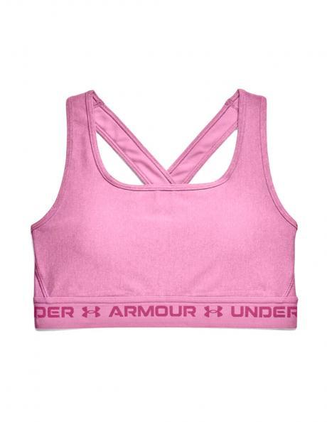UNDER ARMOUR Спортивный топ ARMOUR® MID CROSSBACK HEATHER Артикул: 1361036