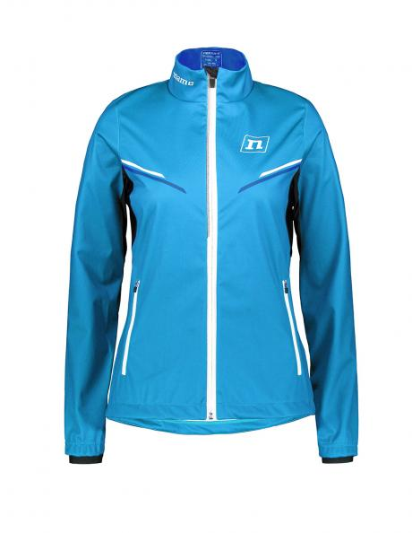 NONAME Куртка разминочная PRO SOFTSHELL JKT 20 WOS LightBlue Артикул: 151218-1