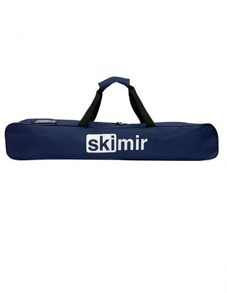 SKIMIR Чехол для лыжероллеров 84x14x14, синий/черный Артикул: 16631
