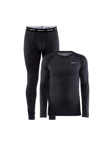CRAFT Комплект мужской: футболка + кальсоны CORE WOOL MERINO Артикул: 1909711