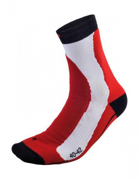 NONAME Носки XC PERFOMANCE SOCKS, белый/красный Артикул: 2000179