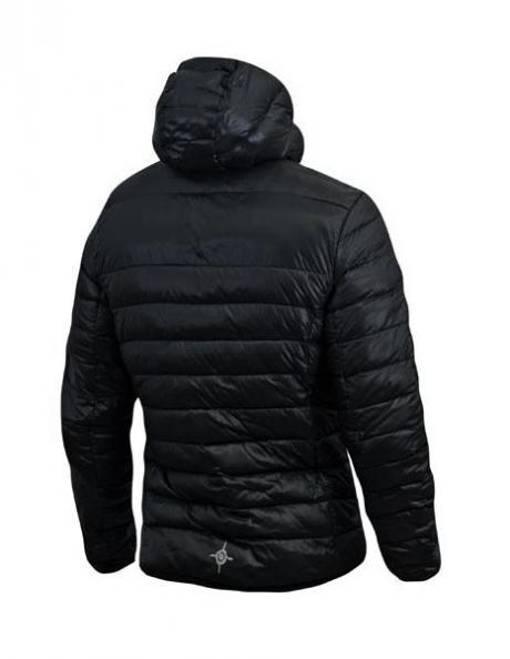 NONAME Куртка LIGHT PUFFY DOWN JACKET 15 UNISEX Black Артикул: 2000774
