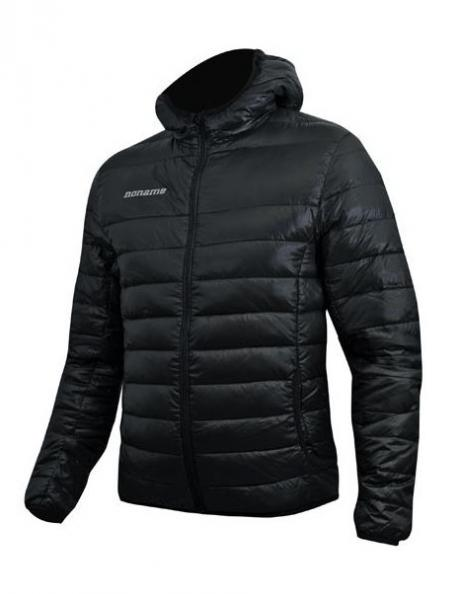 NONAME Куртка LIGHT PUFFY DOWN JACKET 15 UNISEX пуховик, черный Артикул: 2000774