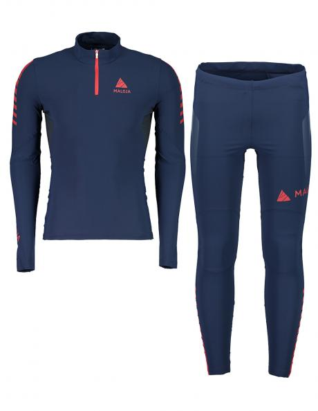 MALOJA Гоночный комбинезон (футболка+брюки) мужской CALGARYM Артикул: 24227-24228