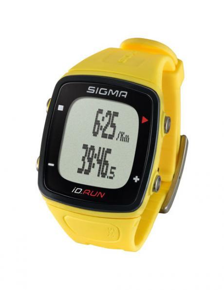 SIGMA Спортивные часы ID.RUN YELLOW Артикул: SIG24810