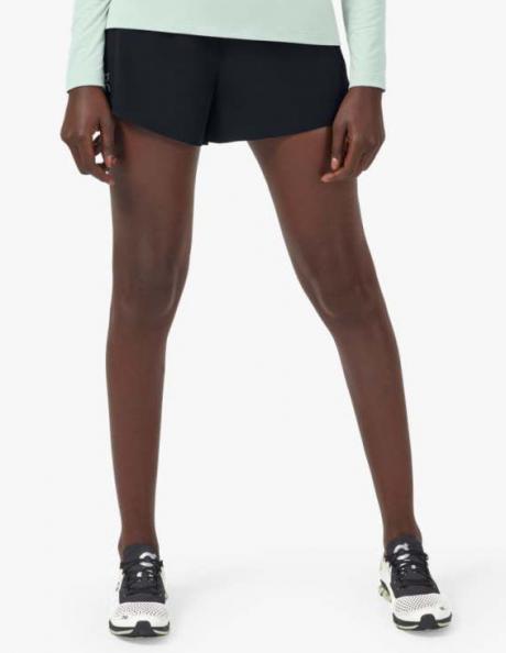 ON Шорты женские RUNNING Black Артикул: 255.00243