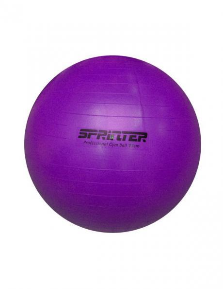 SPRINTER Фитбол Anti-burst GYM BALL PURPLE 75 см Артикул: 29041