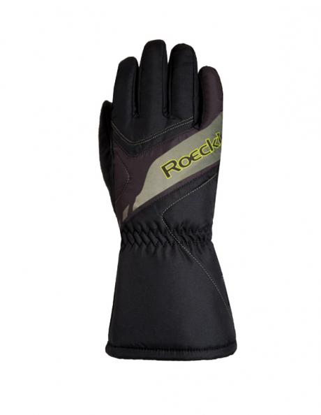 ROECKL Горнолыжные перчатки детские ALBA black Артикул: 3405-032