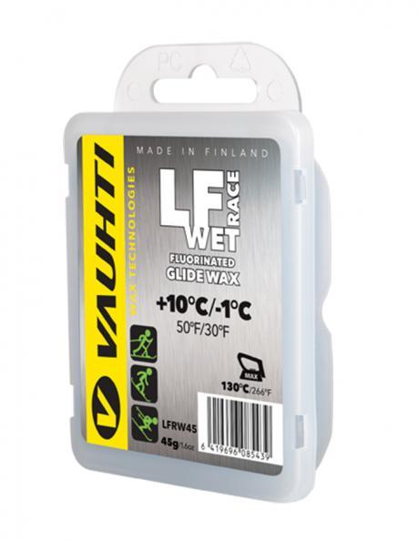 VAUHTI Парафин низкофтористый LF RACE WET (+10/-1), 45 г Артикул: 343-LFRW45