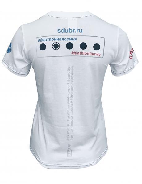 SKI2BI Футболка с коротким рукавом женская БИАТЛОН Артикул: 392501