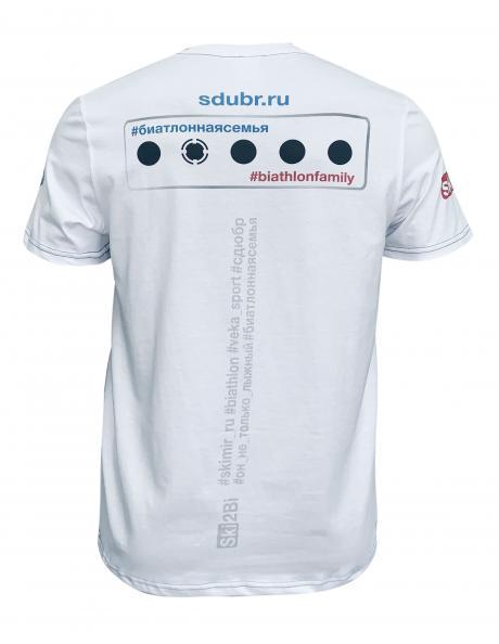 SKI2BI Футболка с коротким рукавом мужская БИАТЛОН Артикул: 392502