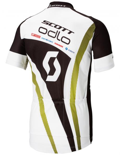 ODLO Велофутболка с воротником-стойкой мужская SCOTT ODLO RACING TEAM Артикул: 491652