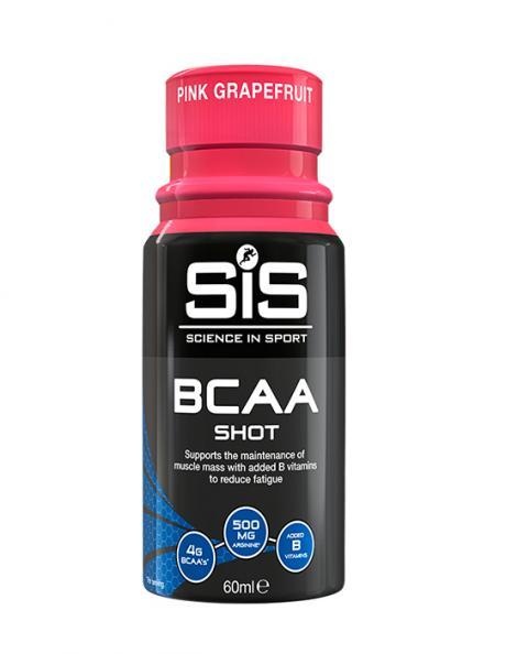 SIS BCAA, напиток шот 60 мл., вкус Розовый Грейпфрут Артикул: 5025324003006