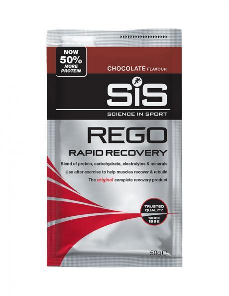 SIS Напиток восстановительный углеводно-белковый в порошке REGO RAPID RECOVERY шоколад, 50 г Артикул: 5025324007141