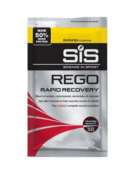 SIS Напиток восстановительный углеводно-белковый в порошке REGO RAPID RECOVERY банан, 50 г Артикул: 5025324007240